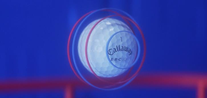 """这颗有""""蓝•红•蓝""""三条轨道的高尔夫球,什么来头?"""